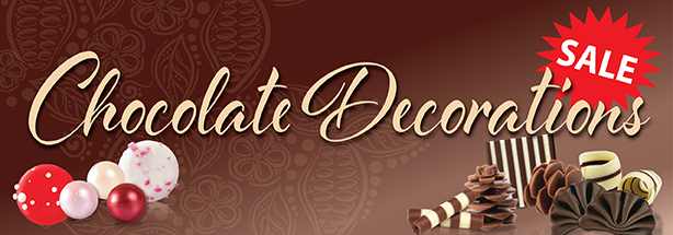 Chocolate Decorations Sale