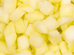 Apple Fresh Diced Large 15mm 15kg