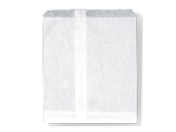 Bags Paper 1 Wide White 500 Qty