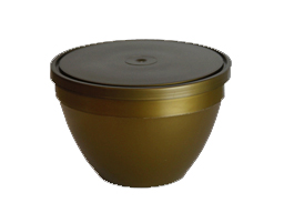 BOWL 900g PLASTIC Base + Lid