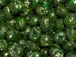 Cherries Glace Green Whole 1kg