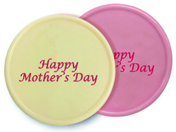 CHOC MOTHERS DAY PLAQUE ASSORTED 36PC 77422