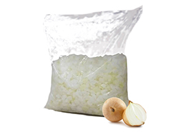 Onion IQF Diced 10mm 10x1kg