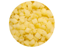 Pear IQF Diced 10mm 10kg