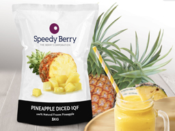 Pineapple Diced IQF 1kg Speedyberry
