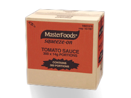 Tomato Sauce Squeeze 300qty M'Food 4.2kg