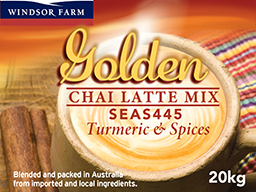 Golden Chai Latte Mix 20kg